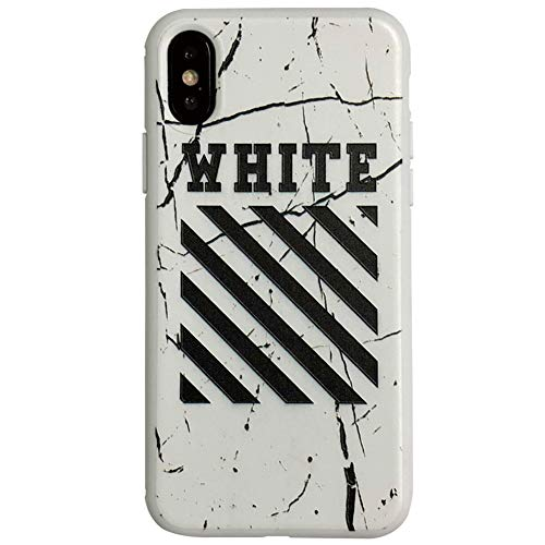 RSDPJ Für Apple 11 Handy-Fall, Tide Marke Off-White Apple-XR Handy-Fall, Iphone8 Paar weiche Schutzhülle,iPhone11