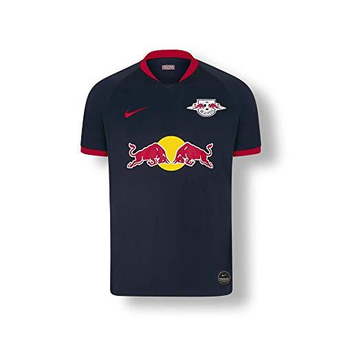 RB Leipzig Away Trikot 19/20, Blau Youth Large T Shirt, RasenBallsport Leipzig Sponsored by Red Bull Original Bekleidung & Merchandise