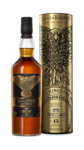 Mortlach 15 Jahre, The Six Kingdoms - Game Of Thrones Limitierte Edition Single Malt Whisky (1 X 0.7 L)