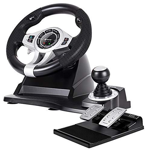 Tracer Roadster 4 in 1 Lenkrad für PC/PS3/PS4/Xone 2-Pedalset Ganghebel 270-Grad-Rotationswinkel