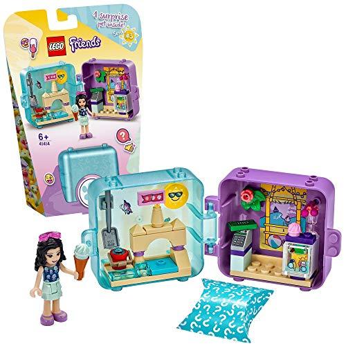 LEGO 41414 Friends Emmas magischer Sommer-Würfel, Eis Café, Bauset, Sammler-Mini-Set-Reisespielzeug