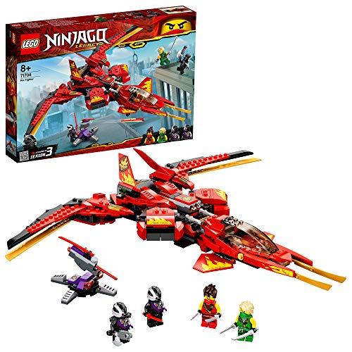 LEGO 71704 NINJAGO Legacy Kais Super-Jet Spielset mit Nindroid-Jäger Actionfiguren