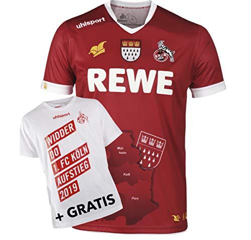 uhlsport 1.FC Köln Fastelovend Karnevalstrikot 2019/2020 Bundle, Größe:L