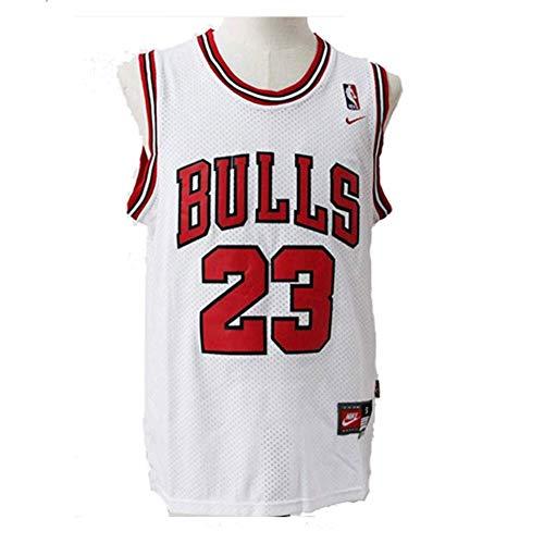 LinkLvoe Herren NBA Michael Jordan # 23 Chicago Bulls Basketball Trikot, die treuen Fans der Los Angeles Lakers und Lebron James dürfen Dieses Trikot Nicht verpassen