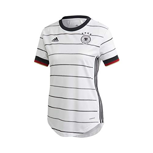 adidas Damen DFB H JSY W T-Shirt, Blanco, S
