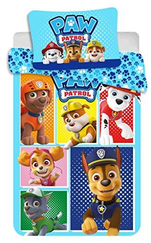 Jerry Fabrics PAW Patrol PP184 Babybettwäsche Kinderbettwäsche 100x135 cm