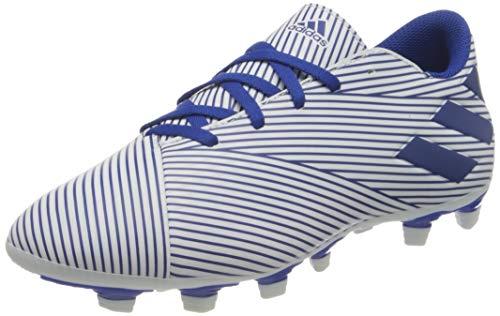 adidas Herren Nemeziz 19.4 Fxg Fußballschuhe, Blau (FTWR White/Team Royal Blue/Core Black), 39 1/3 EU