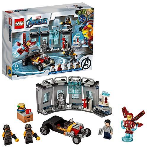 LEGO 76167 Marvel Avengers Iron Mans Arsenal, Bauset