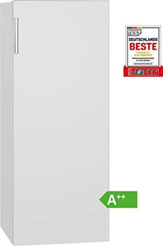Bomann VS 7316.1 Vollraumkühlschrank / LED-Beleuchtung / wechselbarer Türanschlag / Nutzinhalt: 242 Liter / weiß
