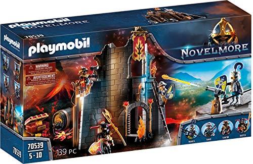 PLAYMOBIL Novelmore 70539 Burnham Raiders Feuerruine, für Kinder von 4 - 10 Jahren