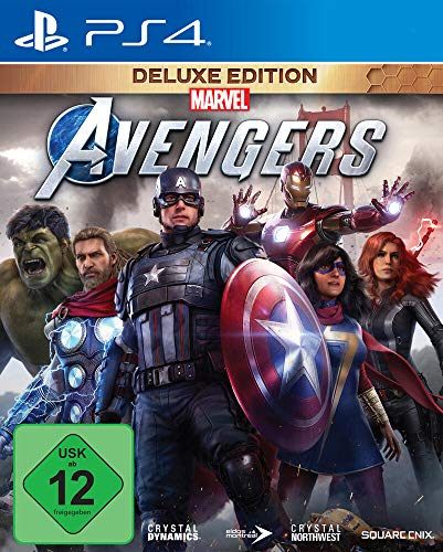 Marvel\'s Avengers Deluxe Edition (inkl. kostenloses Upgrade auf PS5) (PS4)