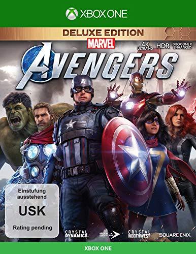 Marvel\'s Avengers Deluxe Edition (inkl. kostenloses Upgrade auf Xbox Series X) (XONE)