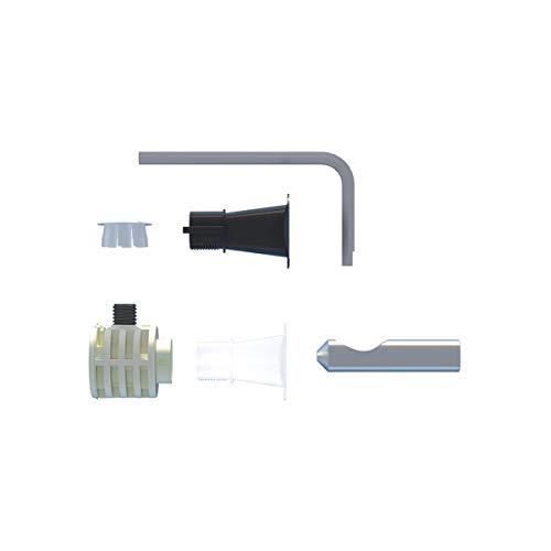 Fischer 551883 WB 9 LV Sanitärdübel Befestigung Versteckte WC und Bidet, an der Wand mit Zugang an der Seite oder von Oben