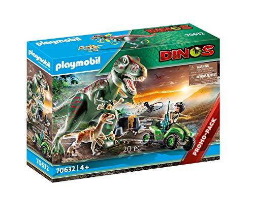 PLAYMOBIL Dinos 70632 T-Rex Angriff, ab 4 Jahren