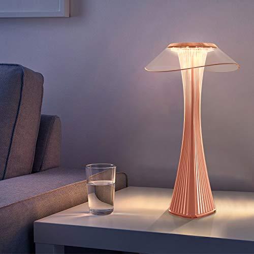 ZMH LED Tischlampe Touch Dimmbar mit Akku Nachttischlampe Innen und Aussen Beleuchtung Tagbare Tischleuchte Aufladen mit USB Schlummerlicht Stimmungslicht Leseleuchte für Restaurant Hotel