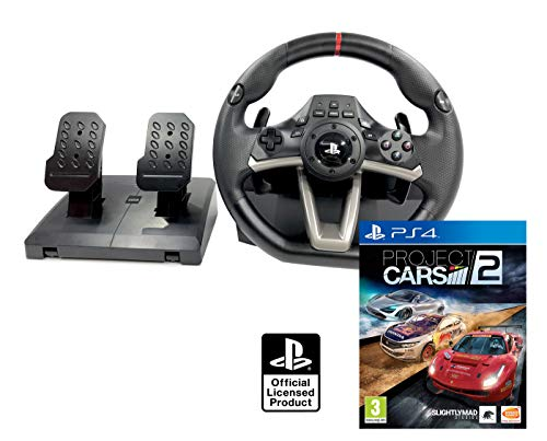 PS4 Lenkrad und Pedale Orig. Licensed PlayStation 4 RWA Apex + Project Cars 2