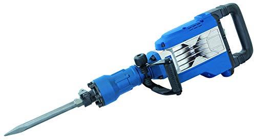 Scheppach Abbruchhammer AB1700 (1700 Watt, 50 Joule, inkl. Sechskant-Aufnahme Ø 30mm Spitz- und Flachmeißel und Metallkoffer)