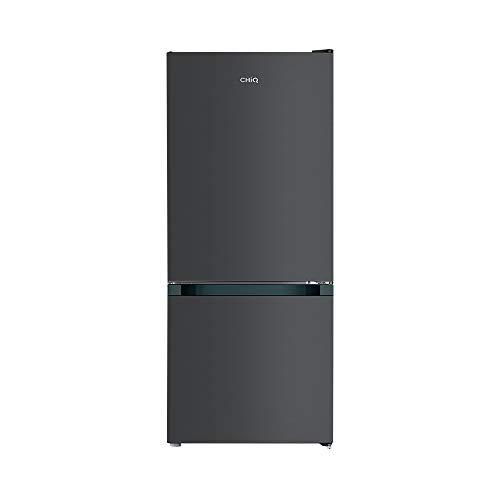 CHiQ FBM117L Freistehender Kühlschrank mit Gefrierfach 117L | Kühl-Gefrierkombination | Low-frost | 114 x 47 x 49,2 cm (HxBxT) | Ultraleise 38 db | 12 Jahre Garantie auf den Kompressor
