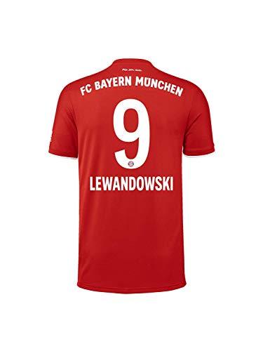 FC Bayern München Home-Trikot Saison 2020/21, Gr. L, Robert Lewandowski