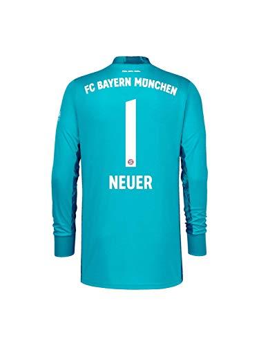 FC Bayern München Kinder Torwart-Trikot Saison 2020/21, Gr. 140, Manuel Neuer
