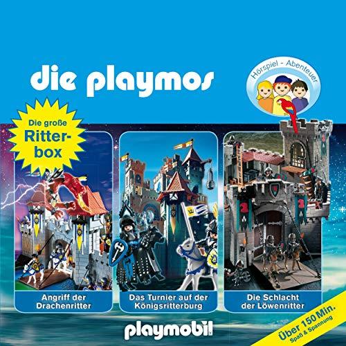 Die große Ritter-Box 1. Das Original Playmobil Hörspiel: Die Playmos 2, 8, 20