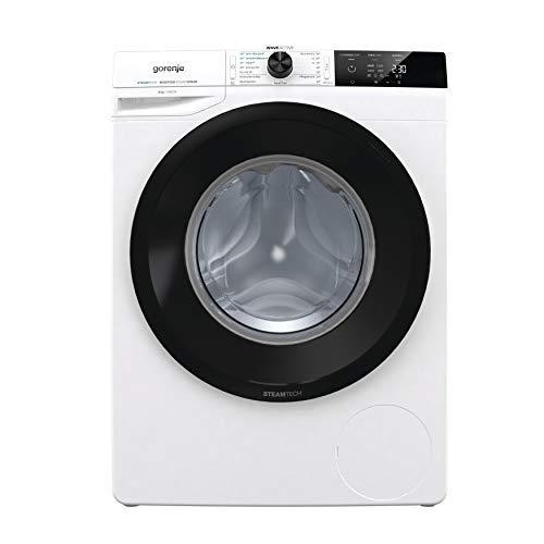 Gorenje WEI 84 CPS Waschmaschine / 8 kg / 1400 U / min / Edelstahltrommel / Schnellwaschprogramm / mit Dampffunktion