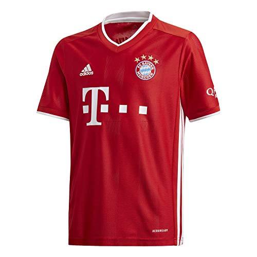 adidas Kinder 20/21 FC Bayern Home Jersey Trikot, Fcbtru, 152
