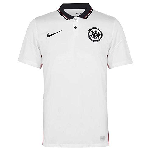 Nike Herren Eintracht Frankfurt BRT Stad Auswärts-Trikot, White/Black, XL