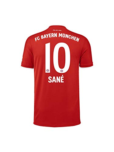 FC Bayern München Kinder Home-Trikot Saison 2020/21, Gr. 152, Leroy Sané