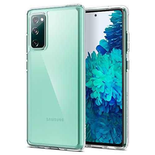 Spigen Ultra Hybrid Hülle Kompatibel mit Samsung Galaxy S20 FE Crystal Clear