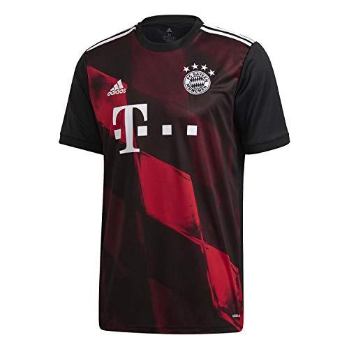 adidas Herren Trikot 20/21 Fc Bayern 3RD Jersey, Black, S, FN1949