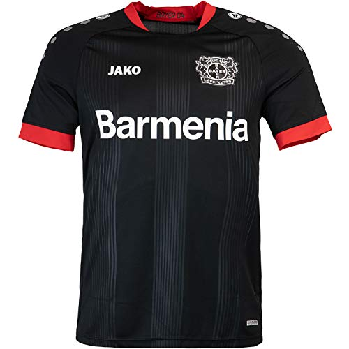 JAKO Bayer 04 Leverkusen Trikot Home 20/21 (XL, schwarz)