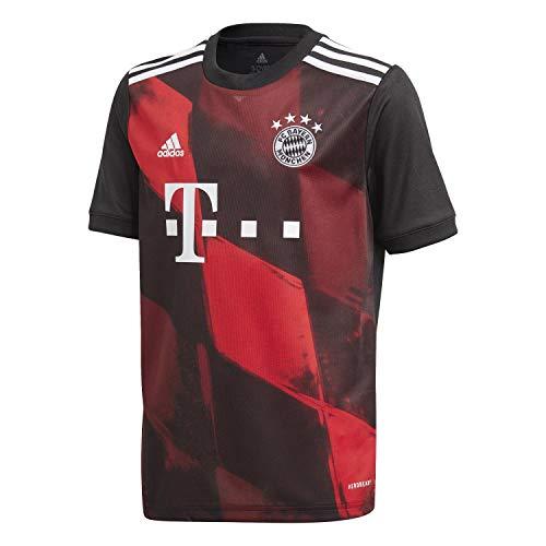 adidas Kinder 20/21 FC Bayern 3rd Jersey Trikot, Black, 176