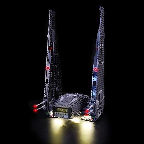 Led Beleuchtungsset Für Lego Star Wars Kylo Ren\'s Command Shuttle, Kompatibel Mit Lego 75104 Bausteinen Modell - (Modell Nicht Enthalten)