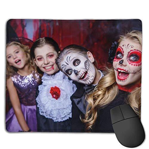 Mousepad Halloween Happy Children Karnevalskostüme feiern mittelschnelle weiche Gaming-Mausmatte