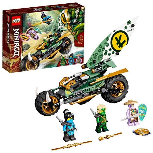 LEGO71745NINJAGOLloydsDschungel-BikeBauset,SpielzeugMotorradmitLloydundNYAMinifiguren