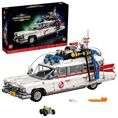 LEGO10274CreatorExpertGhostbustersECTO-1AutogroßesSetfürErwachsene,AusstellungsstückfürSammler