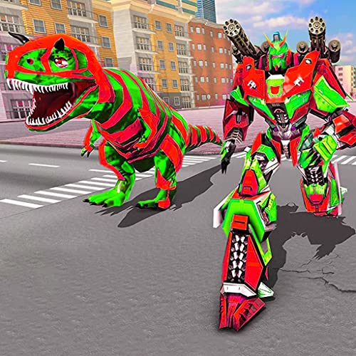Xtreme Demolition Monster Truck Transform Dino Superhelden-Robotersimulator: Ultimative Truck Robot Shooting 3D-Spiele 2020