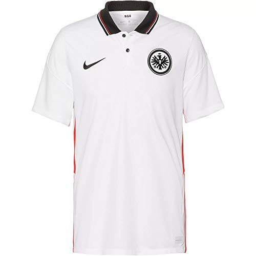 Nike Eintracht Frankfurt Stadium Trikot Away 20/21 (M, White/Black)