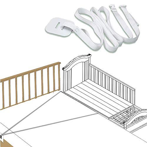 Gurt für Babybett,Befestigung Beistellbett Boxspringbett,Beistellbett Gurt Weiß,Gurt für Boxspringbetten,Beistellbetten-Gurt,Beistellbett Befestigung
