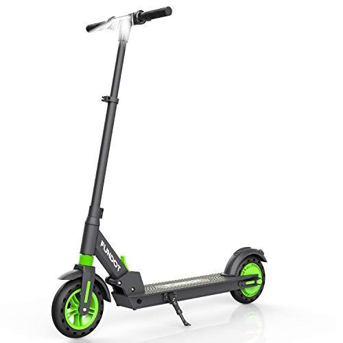"""FUNDOT Elektrischer Scooter, Faltbarer Elektroroller,8""""Reifen City Scooter mit 3 Gang Modus LCD Display Tempomat Wiederaufladbare Lithium-Ion Elektro Scooter für Erwachsene und Jugendliche"""