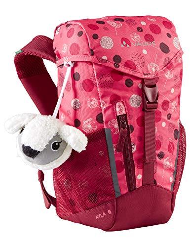 VAUDE Kinder Ayla 6 Rucksäcke5-9L, Bright pink/Cranberry, Einheitsgröße