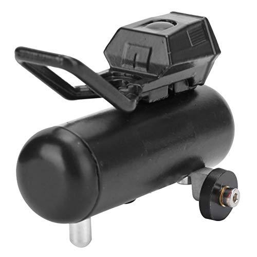 03 Langlebig Einfach zu installierende RC-Auto-Luftpumpe, Zuverlässige RC-Luftpumpe, robust für D90 Cc01 Trx4 90046(Black)