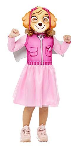 amscan 9909114 Mädchen Kleid Paw Patrol Skye Halloween Kostüm, Pink, 4-6 Jahre