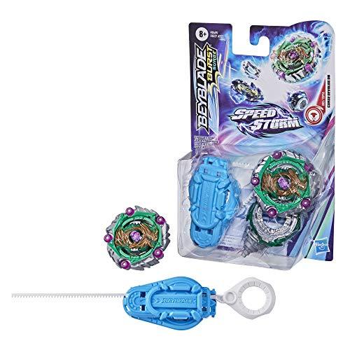 Hasbro Beyblade Burst Surge Speedstorm Demise Devolos D6 Kreisel Starter Pack – Battle Kreisel mit Starter