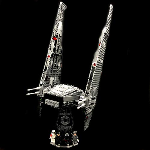 AREA17 Acryl Display Stand - Acrylglas Modell Standfuss für Lego 75104 Kylo Ren´s Command Shuttle