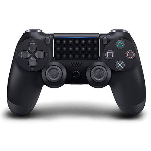 GGXINT Bluetooth Wireless-Joystick für PS4 Controller Fit Für mando ps4 Konsole Für Playstation Dualshock 4 Gamepad Für PS3,Schwarz