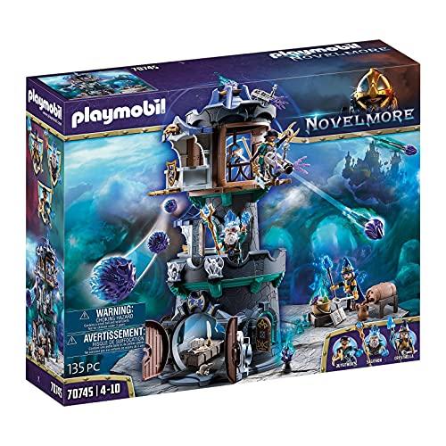 PLAYMOBIL Novelmore 70745 Violet Vale - Zaubererturm, Ab 4 Jahren