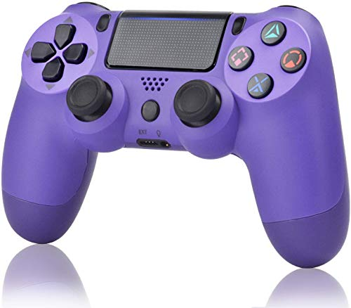 Juego Game Controller for PS4,Wireless Controller for Playstation 4/ Windows/ Android/iOS, Elektronisches Lila