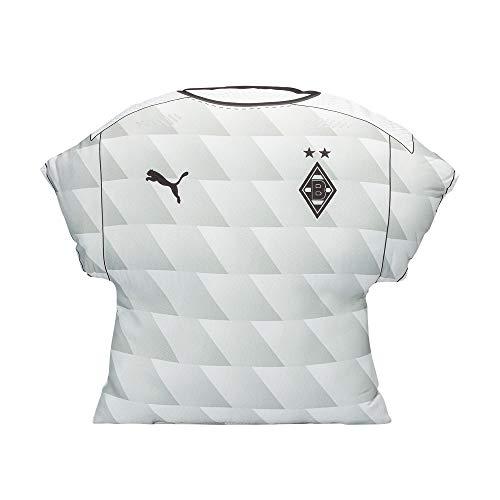 Borussia Mönchengladbach Trikot Kissen Home 20/21 weiß
